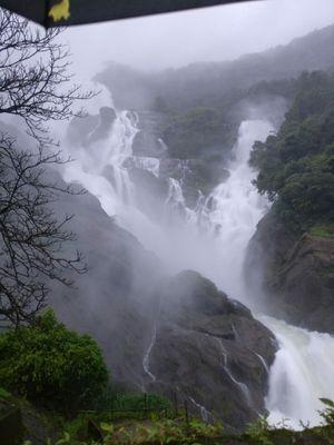Hidden gem of Goa- Dudhsagar waterfall