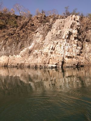 Marvel in Marble near Jabalpur