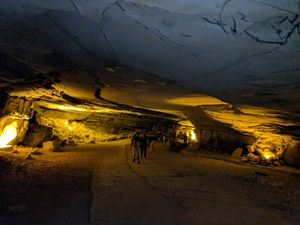 Sweating it off inside the second longest Cave system in India - Belum Caves
