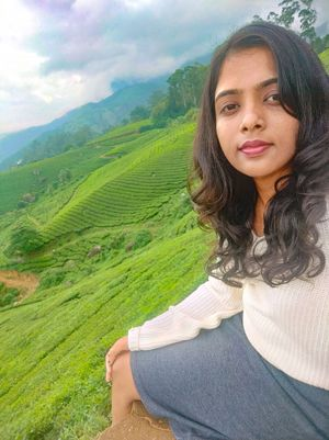The refreshing view of tea plantation, Munnar♥ #SelfiewWithAView #TripotoCommunity