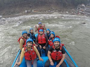 Have you ever tried river rafting sport?