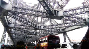 A Bridge over the Hooghly River