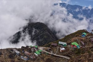 WEST SIKKIM , a college trip to remember