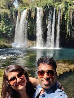 Love is like a waterfall,running wild and free #SelfieWithAView #TripotoCommunity #vivoS1