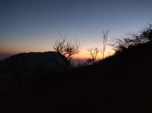 Adventure Night Trek @ Nandi Durga - Southern India