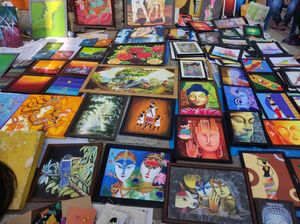 #Artists, A place of fine Art Exhibition to display your skills at Bangalore #ILOVEINDIA