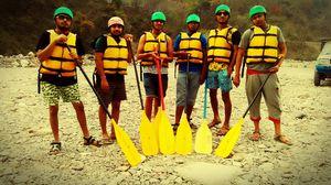 Rishikesh trip river rafting