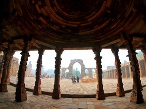 Pillars of Heritage view !!
