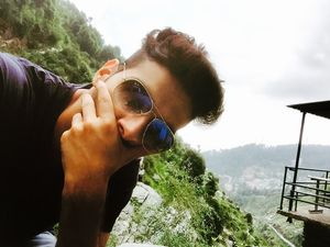 Adventure is our routine  #SelfieWithAView#TripotoCommunity #travel#vibes#mountains#trek