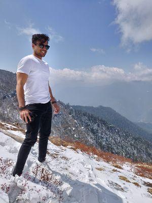 Chelela pass a snow paradise