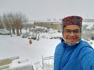 Throwback to the snowy winter of 2019. Spiti <3 #SelfieWithAView #TripotoCommunity