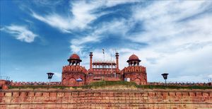 """"""" Old places have Soul""""- Red Fort"""