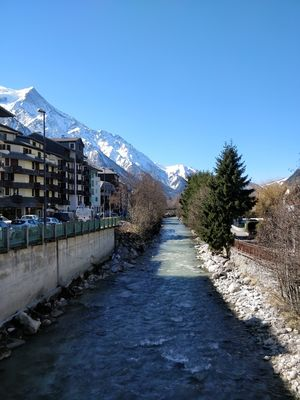 Chamonix -Mont blanc , gem of the beautiful French alps #tenphotos