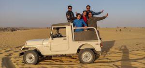 Thar Desert - Sand Dunes of Jaisalmer