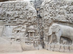 A Day Trip to Mahaballipuram
