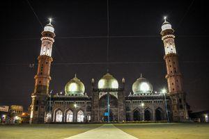 Taj-ul-Masjid.  India's second largest Masjid .