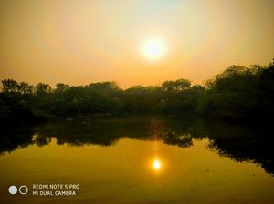 Sunset View at National Zoological Park New Delhi