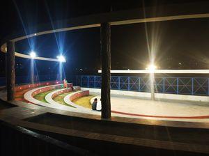 A beautiful eve at the bank of Bhagirathi #Uttarkashi