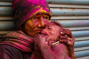 Holi is the day to express love with colors.