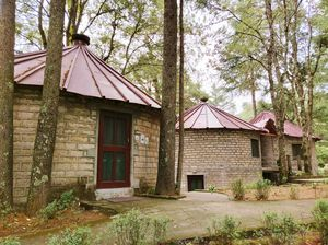 Experience the charm of Binsar Wildlife Sanctuary at the Khali Mountain Resort