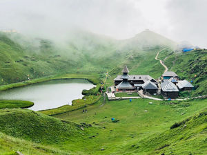 Parashar Lake - Solace 8950 feet above the sea level.
