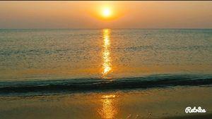 Sunset at Ramachandi #offbeatplace
