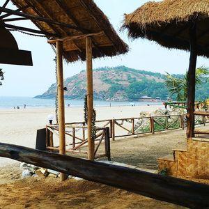 Kudle Beach, Gokarna. A peaceful hippie place.