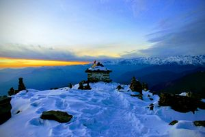 Tungnath. World highest Shiv Temple????....... A song of Ice ❄ and Fire ???? !¡!