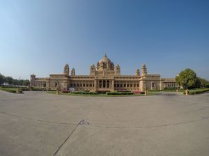 The Stunning Umaid Bhawan Palace!