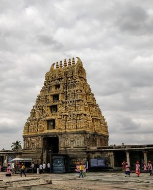 HISTORY -the core of a mystery.THE ARTISTIC VISHNU TEMPLE