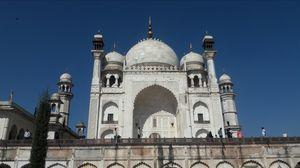 Bibi ka maqbara.(replica of Taj)