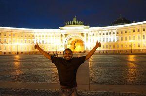 Having fun in Russia