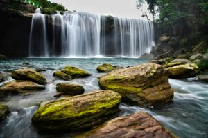 Krang Suri Falls is the most exotic waterfalls in the Jaintia Hills District, Meghalaya.