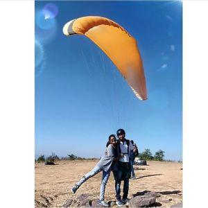 Paragliding paragliding.