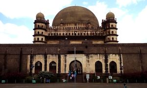 Gol Gumbaz, Bijapur- Asias 2nd Largest Dome built by  Mohammed Adil Shah. A World Heritage Site