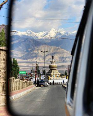 Reflections of Leh city!