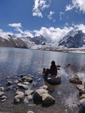Lachen North Sikkim gurudongmar lake