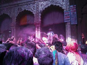 Mathura ki Holi @ bankey bihari and dwarkadeesh