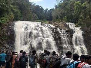 Karnataka -Coorg's Abbey waterfall