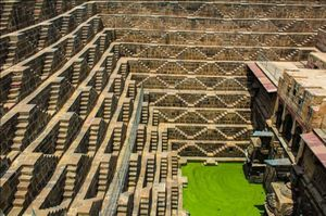 Chand Baori Stepwell | Whehere the scenes of Dark Knight Rises is Shoot