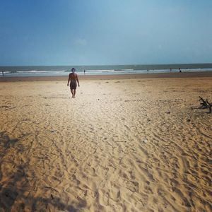 Sea beach with loved one or friends..