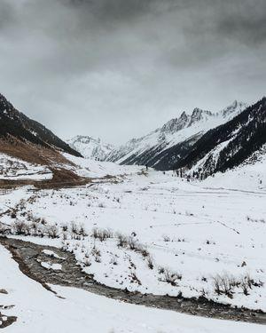 Sonmarg,A winter wonderland