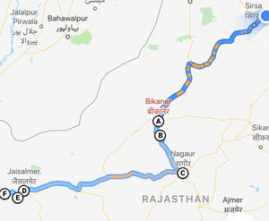 Explored 24 Places Of Rajasthan In 6 Days Covering 3000kms