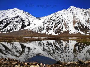Wild Reflections! Bike trip in Zanskar Valley, 2019