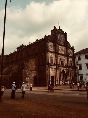 the best part is the body of Francis Xavier and This is one of the oldest churches in Goa