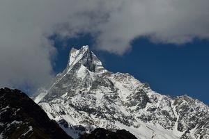 Nepal Himalayas. Mardi Himal Base Camp