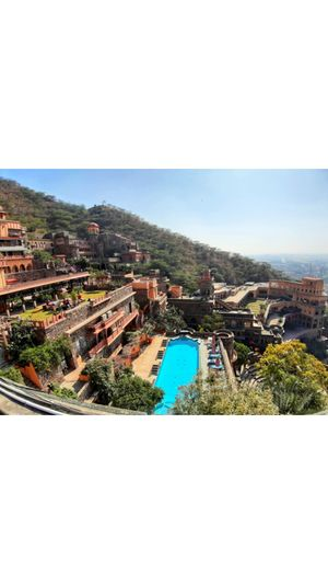 """Neemrana 15th centuary fort """"Stay here for royalty feel"""""""