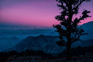 Journey of chandrashila summit ..