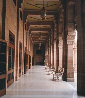 Inside the Umaid Bhawan Palace