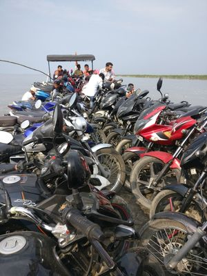 Worlds largest river island in the mighty Brahmaputra-Majuli